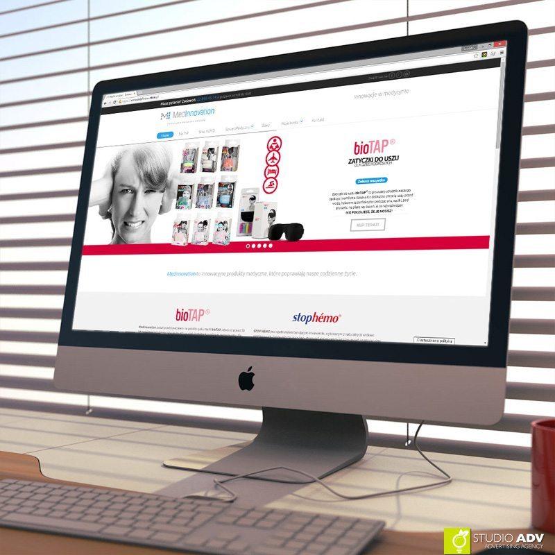 Studio ADV Agencja Reklamowa - Medinnovation web page