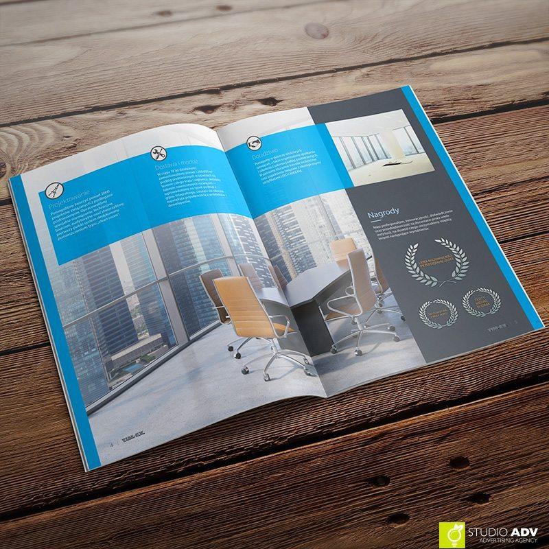 Studio ADV Agencja Reklamowa - TIM-EX broszura