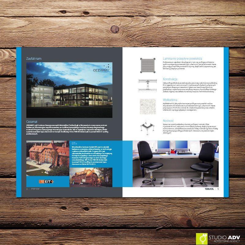 Studio ADV Agencja Reklamowa - TIMEX Clean Room broshure