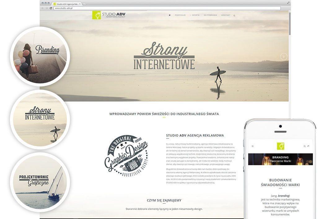 Studio ADV Agencja Reklamowa - Strony Internetowe