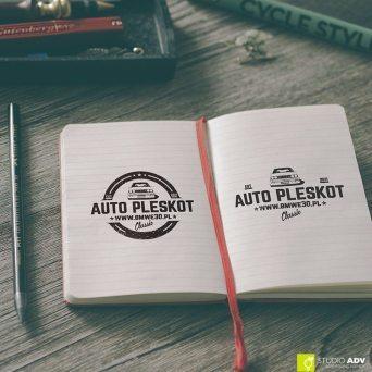 Studio ADV Agencja Reklamowa - Projekt logo Auto Pleskot