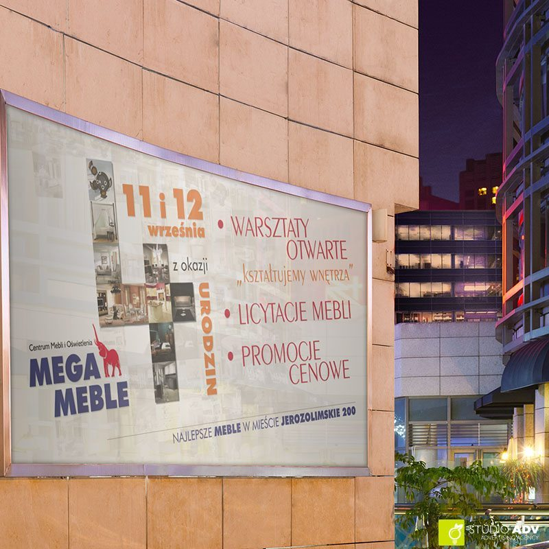 Mega Meble 4-te urodziny