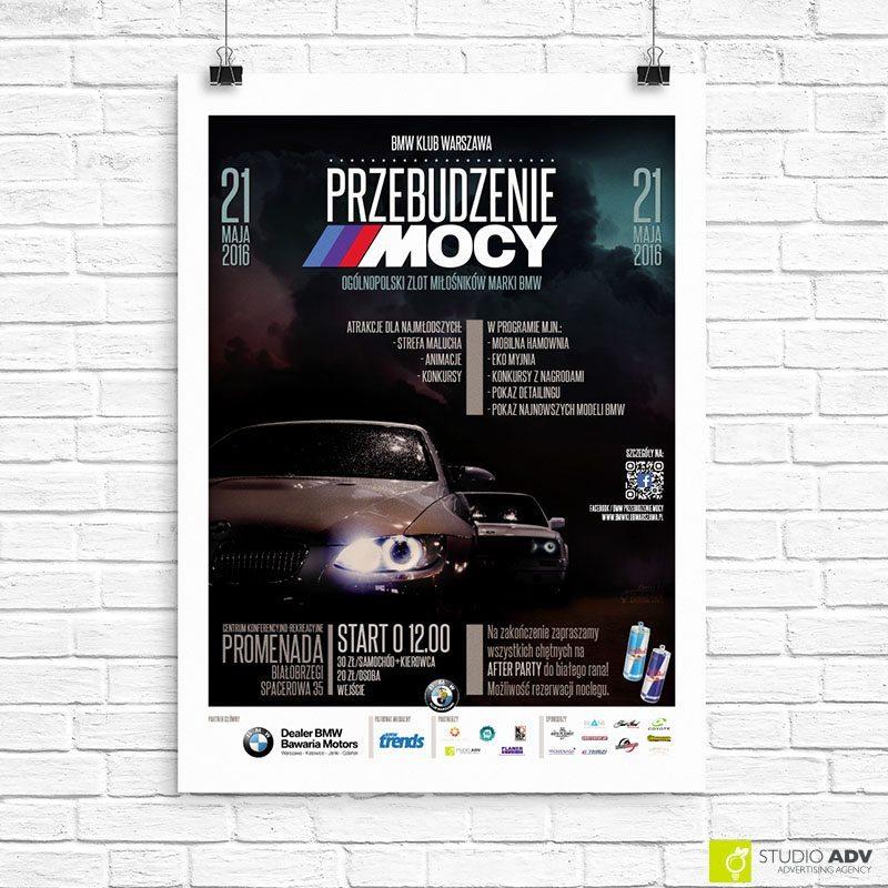 BMW Klub Warszawa reklama Przebudzenie Mocy