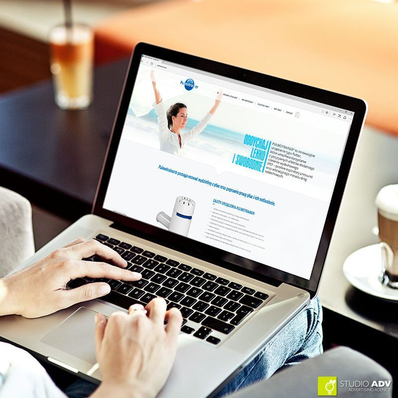 Pulmotrainer - strona internetowa