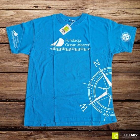 Koszulka dla fundacji Ocean Marzeń