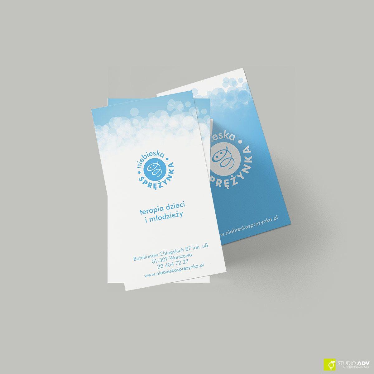 Niebieska Sprężynka Branding