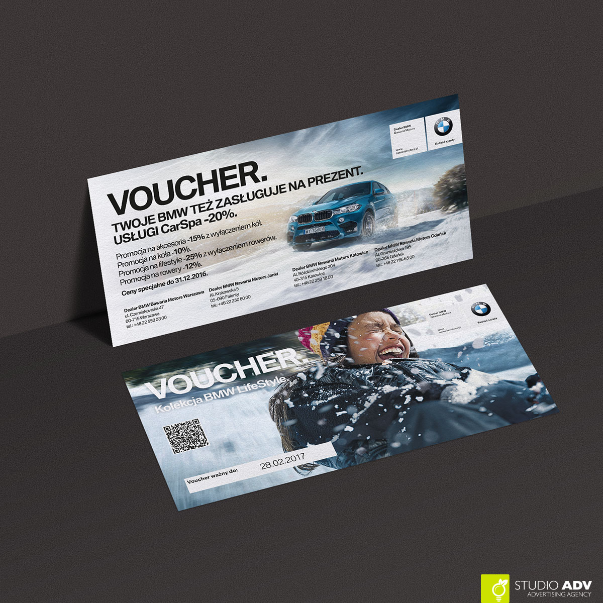 Studio ADV - BMW Voucher