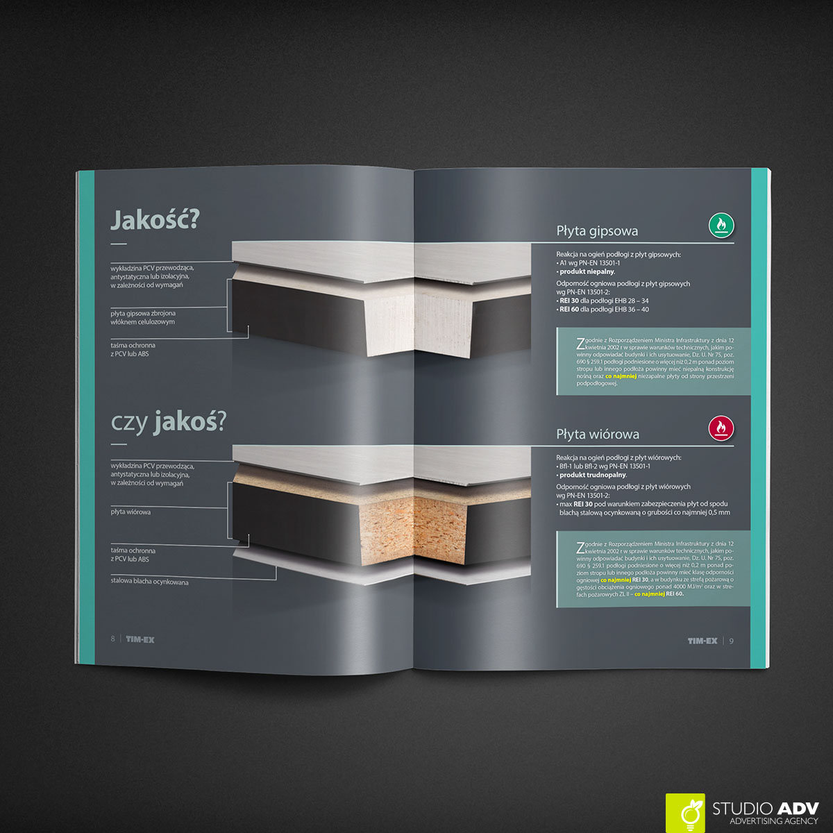 Studio ADV - TIMEX A4 brochure